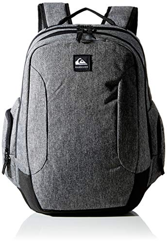 Quiksilver Schoolie 30l - Mochila Grande para Hombre Backpack, Hombre, Light Grey Heather, 1SZ