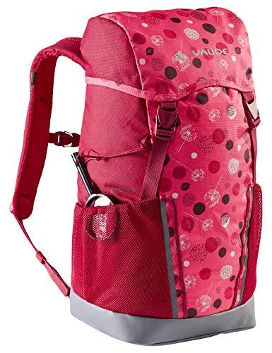 VAUDE 15477 Unisex Niños Mochilas 10-14L, Bright Pink/Cranberry, 14 Litros